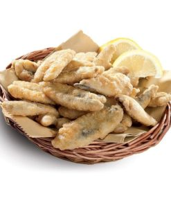 Friture de filets d'anchois
