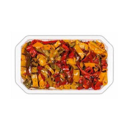 PEPPERDELIZIA - Poivrons grillés en lanières et vinaigre balsamique blanc