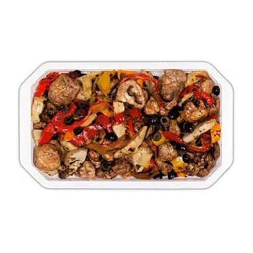 PEPPEROYAL - Mélange de légumes grillés et olives