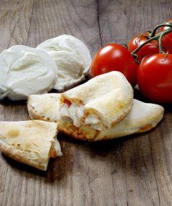 Mini calzone BIO tomate et mozzarella