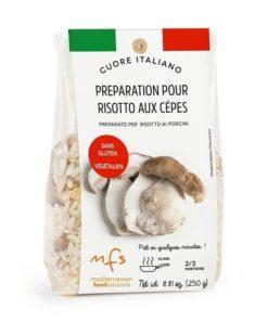 Préparation pour risotto aux cèpes
