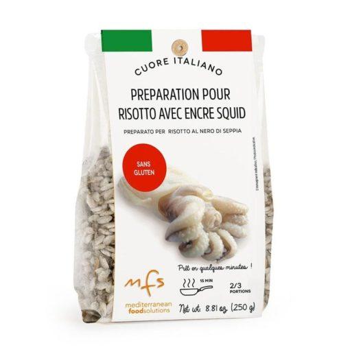 Préparation pour risotto à l'encre de seiche