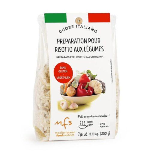 Préparation pour risotto aux légumes