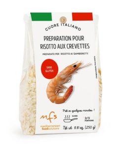 Préparation pour risotto aux crevettes