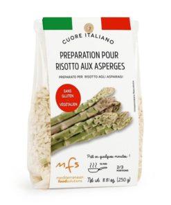Préparation pour risotto aux asperges