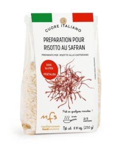 Préparation pour risotto au safran